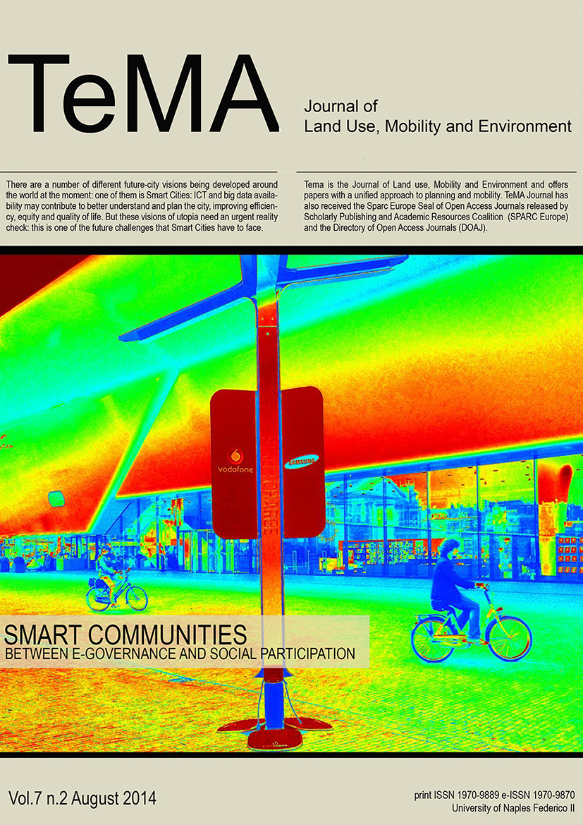 26_Vol 7 N° 2 (2014) Smart Cities Challenges Smart Communities Between E-Governance and Social Participation